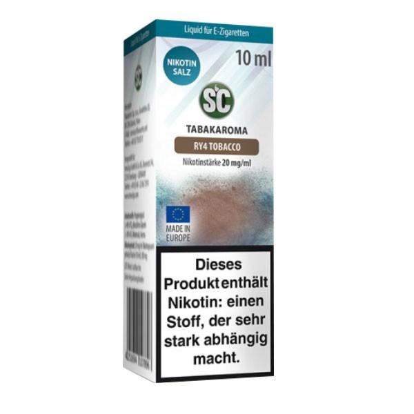 RY4 Tobacco SC Nikotin Salz Liquids günstig
