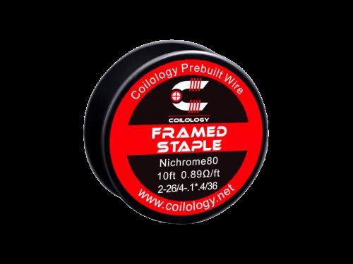 Coilology Framed staple Wickeldraht Ni80