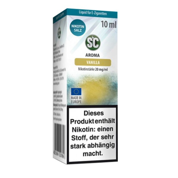 Vanilla SC Nikotin Salz Liquids günstig