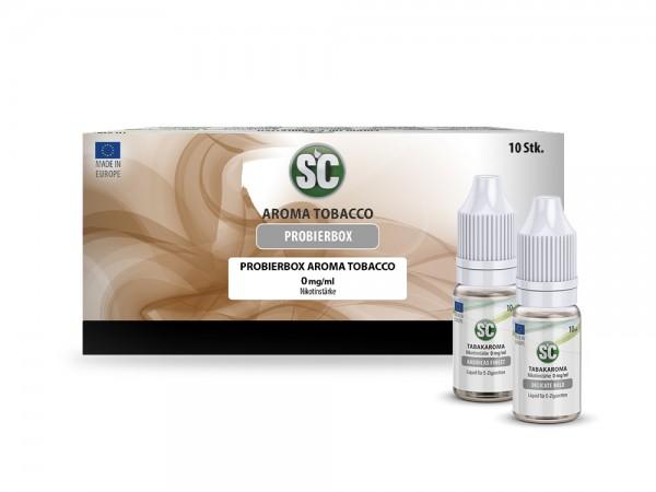 SC Probierbox Tabak Liquids günstig