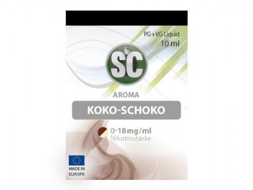 Liquid für E-Zigaretten von SC Koko-Schoko