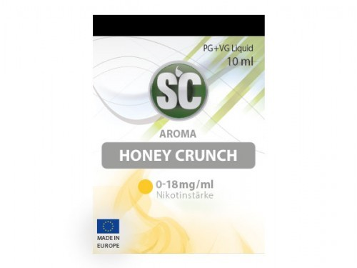 Liquid für E-Zigaretten von SC Honey Crunch