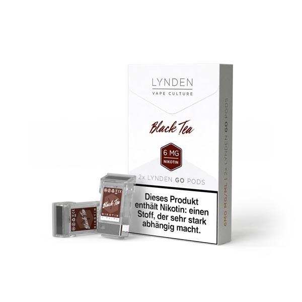 Black Tea Pods für Lynden GO E-Zigarette