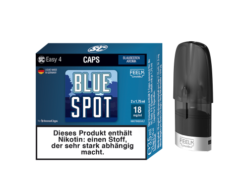 Easy 4 Caps Blue Spot