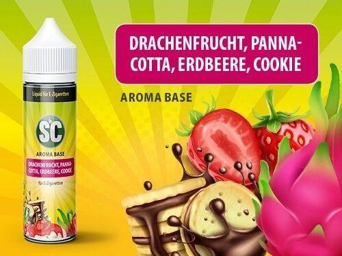 shake and vape Liquids mit 50ml Sc vApe Base mit Drachenfrucht aroma