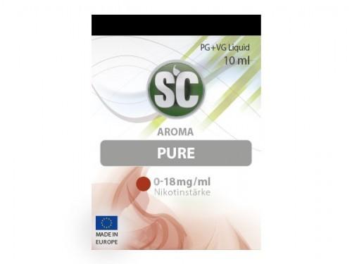 Liquid für E-Zigaretten von SC Pure Tabak