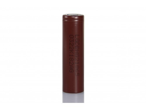 LG HG2 Akku 3000 mAh für E-Zigaretten im Sub-Ohm Betrieb geeignet