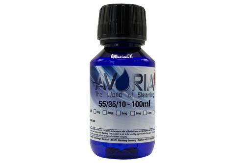 100 ml Liquid Base von Avoria ohne Nikotin