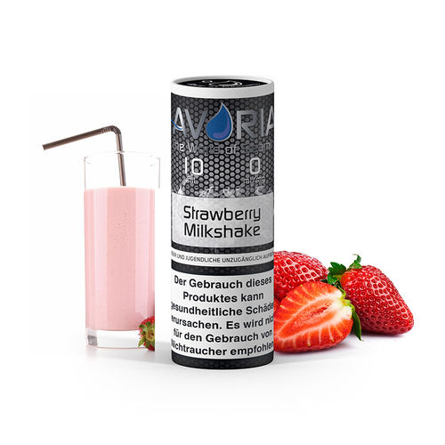 strawberry milkshake e liquid 10ml von avoria. Black Bedroom Furniture Sets. Home Design Ideas