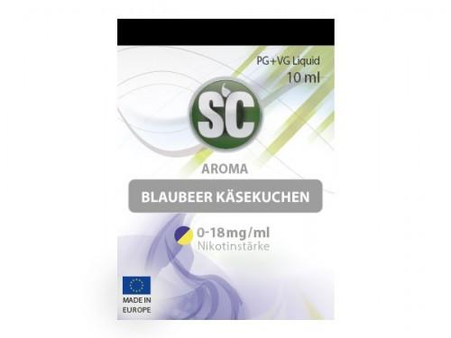 Liquid für E-Zigaretten von SC Blaubeere Käsekuchen