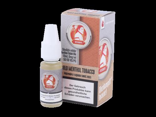 hisVape Mild Menthol Tobacco Liquid