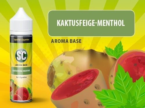 shake and vape Liquids mit 50ml Sc vApe Base mit Kaktusfeige-Menthol aroma