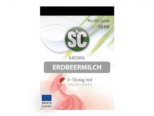 Liquid für E-Zigaretten von SC Erdbeermilch