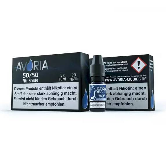 Avoria Nikotinshot 5er 50/50 20mg