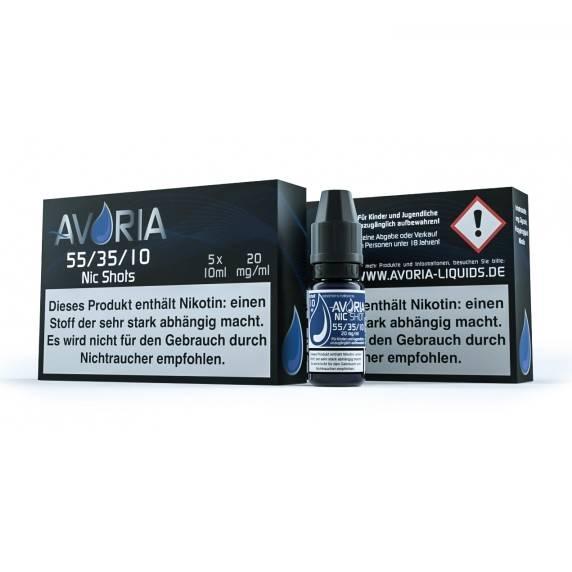 Nikotinshot 55/35/10 5x10ml 20mg Nikotin