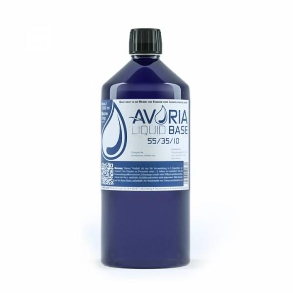 1 Liter 55/35/10 Liquid Base ohne Nikotin