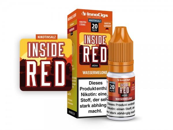 Inside Red Innocigs Nikotin Salz Liquids