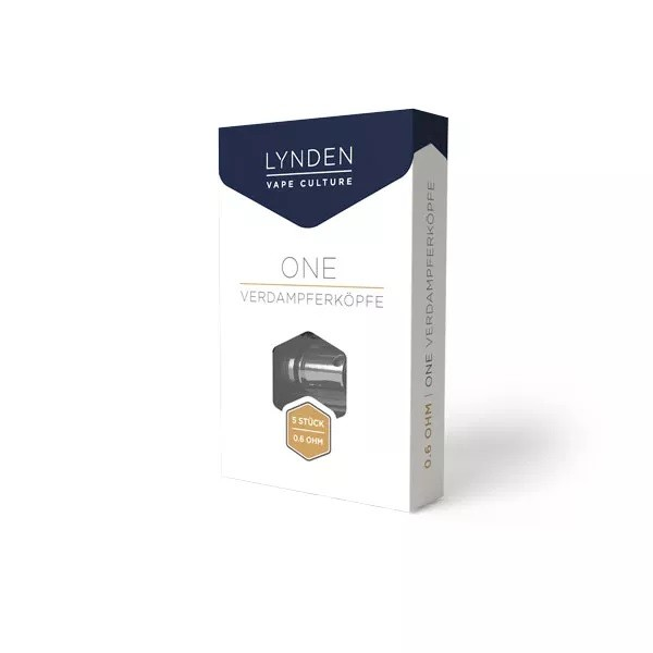 Lynden ONE Coil 0,6 Ohm 5er Pack