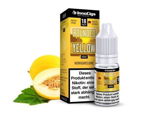 Innocigs E Zigaretten Liquid Rounded Yellow