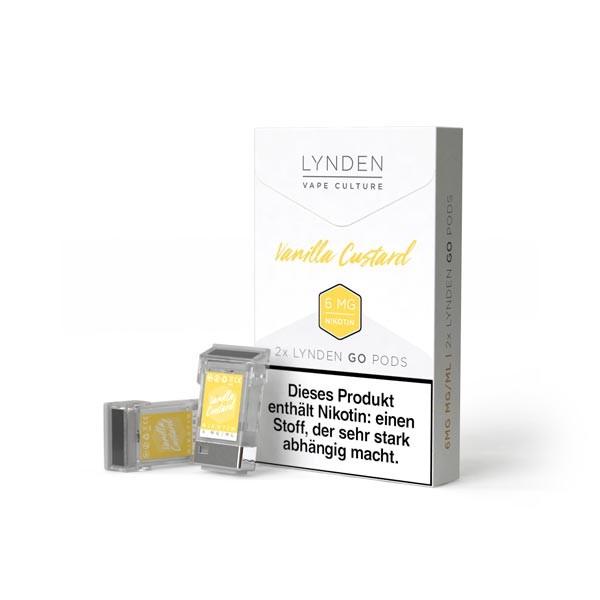 Vanilla Custard Pods für Lynden GO E-Zigarette