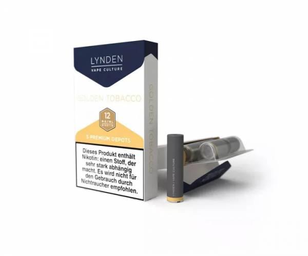 Golden Tobacco Depots Lynden 5er Pack