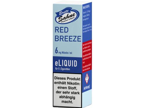 Erste Sahne Liquid 10ml Red Breeze