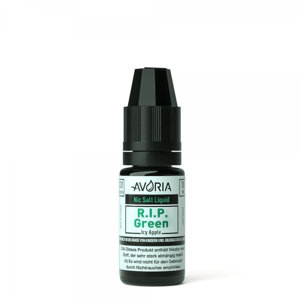 Avoria Nikotinsalz Liquid R.I.P Green
