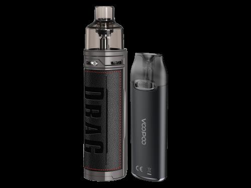 Drag X und VMate E-Zigaretten Schwarz