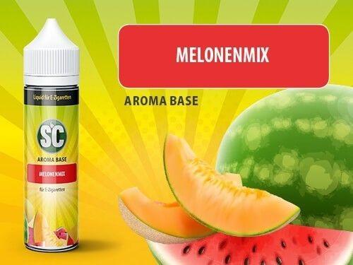 shake and vape Liquids mit 50ml Sc vApe Base mit Melonen-Mix aroma
