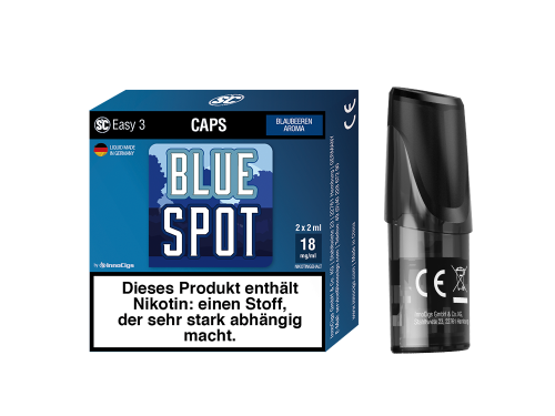 Blue Spot Easy 3 Caps Blaubeeren
