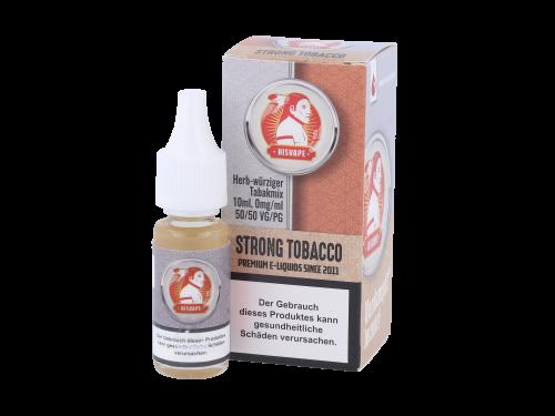 hisVape Strong Tobacco Liquid