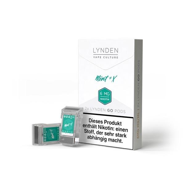 Mint X Pods für Lynden GO E-Zigarette