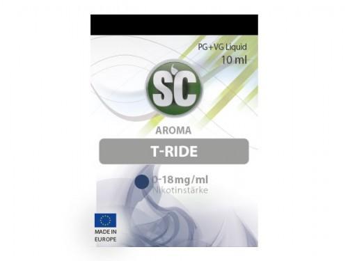 Liquid für E-Zigaretten von SC T-Ride
