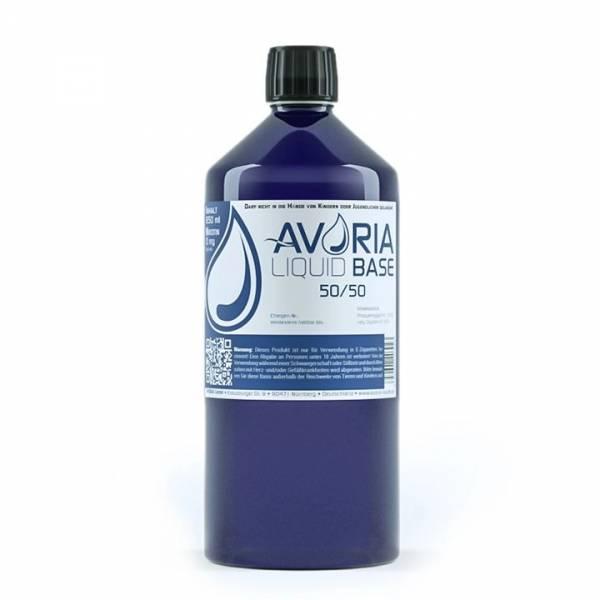 Avoria 1 Liter Liquid Base 50/50 ohne Nikotin