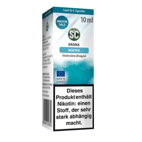 Menthol SC Nikotin Salz Liquids günstig